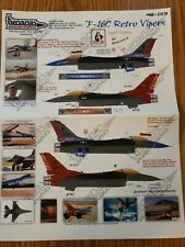 Twobobs Decals 48-013 F-16c Retro Vipers