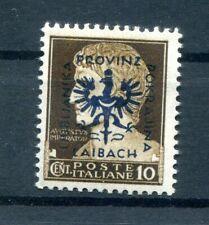 Laibach 2I LUXUS ** POSTFRISCH 50EUR (B9817