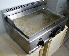 Countertop Natural Gas Griddle 31 inch Restaurant Kitchen Flat Top Grill 2000Pa