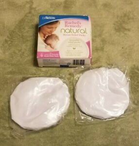Dr. Brown's Natural Breast Relief Packs New Open box contents sealed