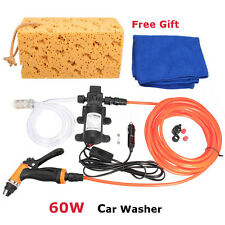 High Pressure Electric Car Cleaner Wash Water Pump 12V Auto Portable Washer Kit