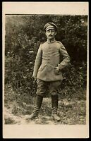 1916 OFFICER WW1 GERMAN REGIMENT ARMY MILITARY ANTIQUE RPPC PHOTO POSTCARD