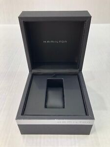 Hamilton Original Black Gray Watch Box with Outer Box HG1