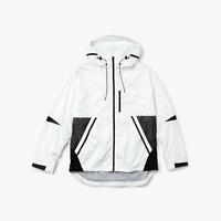New Lacoste Motion Packable Windbreaker Jacket RRP £325 Size 50 Medium Coat BNWT