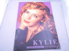 "RARE Kylie Minogue Official 1992 Calendar 16.9"" inch from Japan F/S"