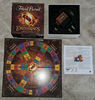 Lord Of The Rings Trivial Pursuit Movie Trilogy Collectors Edition Game VGC