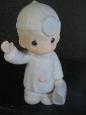 $ Precious Moments Sugar Town Doctor Dr Sam Christmas Collectable