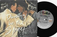 "DAVID BOWIE & MICK JAGGER - DANCING IN THE STREET - 7"" 45 VINYL RECORD w PIC SLV"