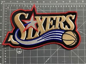 Huge Philadelphia Sixers Logo Patch NBA National Basketball Association 76ers PA