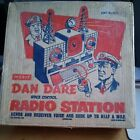 VINTAGE DAN DARE Space Control RADIO STATION 1950s Merit Boxed VGC
