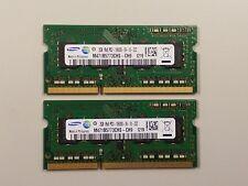 Samsung 4GB OEM (2GB X2) M471B5773CHS-CH9 (1Rx8 PC3-10600S-09-10-ZZZ)