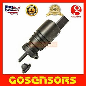 Windshield Washer Pump with GROMMET for Volkswagen Beetle CC EOS Jetta Passat