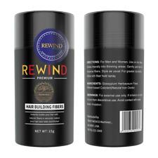 REWIND PREMIUM  HAIR FIBER 15g Auburn,Black,Med blonde,Dark brown, Light blonde,