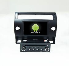 Android 6.0.1 Car Dvd Gps Navi Radio 4G Wifi Tpms Tv For Citroen C4 2004-2012