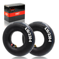 4.10-4 Replacement Tube Dollies Lawn Mowers Trailers and More 2-Pack of 4.10//3.50-4 Premium Replacement Tire Inner Tubes TR87 Bent Valve Stem for Hand Trucks Deli Tire Wheelbarrows