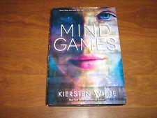 Mind Games by Kiersten White (2013, Hardcover)