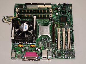 Carte Mère Intel D865GLC + CPU Pentium 4 3 GHz + 512 Mo RAM