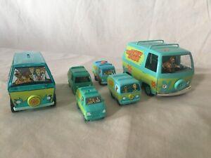 Scooby Doo Mystery Machine Lot