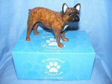 John Beswick Dog French Bulldog Brindle JBPP1BRI  Pampered Pooches Present Gift