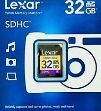 Lexar 32GB SDHC class 4 SD Speicherkarte 32GB SDHC MULTI USE 32GB SD Karte *OVP*