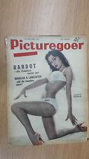 .PICTUREGOER FILM MAGAZINE Octber 1958 LUCETTE MARIMAR
