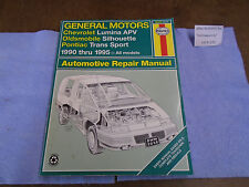 K203 Haynes 1667 Automotive Emissions Control Service Repair Manual 4 Auto Truck