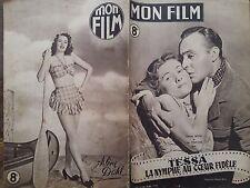"MON FILM 1947 N 56 "" TESSA,  LA NYMPHE AU COEUR FIDELE "" avec JOAN FONTAINE."