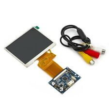 3.5 TFT LCD Screen RGB Kit, Monitor for Coche. Mod Sega Nomad or PC Engine Gt