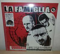 LA FAMIGLIA - 41° PARALLELO - NUMERATO - COLORATO - RSD 2020 - 2 LP