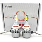 9006 9012 300W 30000LM Car LED Conversion Headlight Kit 6000K Xenon White Bulbs