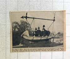 1923 Four Policemen In The Maxim Flying Boat Amusement At Crystal Palace