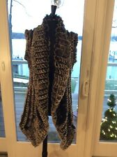 Alberto Makali XL Rabbit Fur Vest