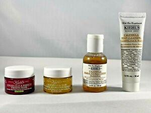 Kiehl's 4 pcs Bundle Travel Skin Set - masks/toner/face wash