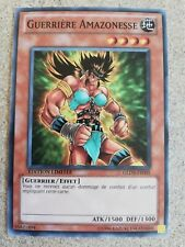 Guerrière Amazonesse (Amazoness Fighter) Yu Gi Oh GLD3-FR005