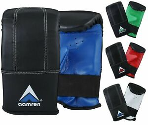 Aamron® Punching Bag Mitts Boxing Muay Thai Training Double End Speedball BMR101