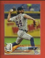 Daniel Norris  2018 Topps Series 1 Card # 41  Detroit Tigers Baseball MLB