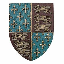Medieval Times  Royal Coat of Arms Shield Wall Sculpture Home Decor