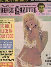 National Police Gazette January 1974 Muhammad Ali Gordie Howe Nate Archibald