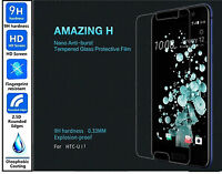 3x Genuine 100% Ultra HD TEMPERED GLASS Screen Protector Cover For HTC U11