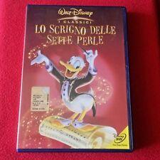 LO SCRIGNO DELLE SETTE PERLE Walt Disney dvd Italiano x bambini cartoni PAPERINO