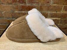 NEW! Bearpaw Loki II Genuine Sheepskin Fur Lined Slipper Women Size 11