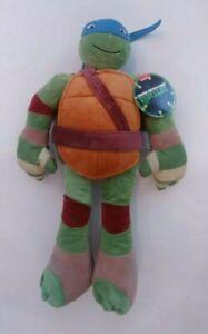 Large Nickelodeon Teenage Mutant Ninja Turtles Leonardo Plush Toy NWT 16''