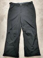 Gerry Womens Ski Pants Black Fleece Lined Snow Snowboarding Adjustable Size XL