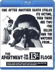 The Apartment on The 13th Floor Aka Cannibal Man BluRay Code Red Video Nasty New