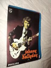 JOHNNY HALLYDAY AFFICHE CONCERT 1974