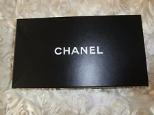 Chanel shoes box Black white chanel logo on top 30x17x10cm