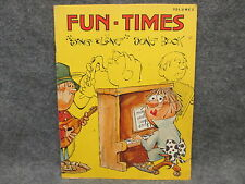 1978 Fun Times Sing Along Song Book Volume 2 LeAnn Publishing 100 Songs