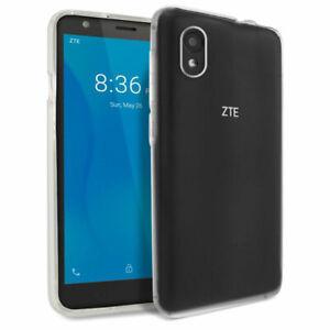 Designed for ZTE Quest 5, TUDIA Ultra Thin TPU Clear Case