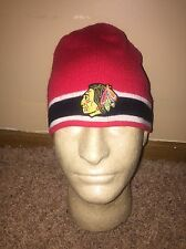 CHICAGO BLACKHAWKS NHL Hockey Beanie Toque Hat Vintage Hockey NEW Winter Warm X