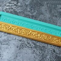 Sugarcraft Newest Border Silicone Mold Fondant Mold Cake Decorating Mold Tools